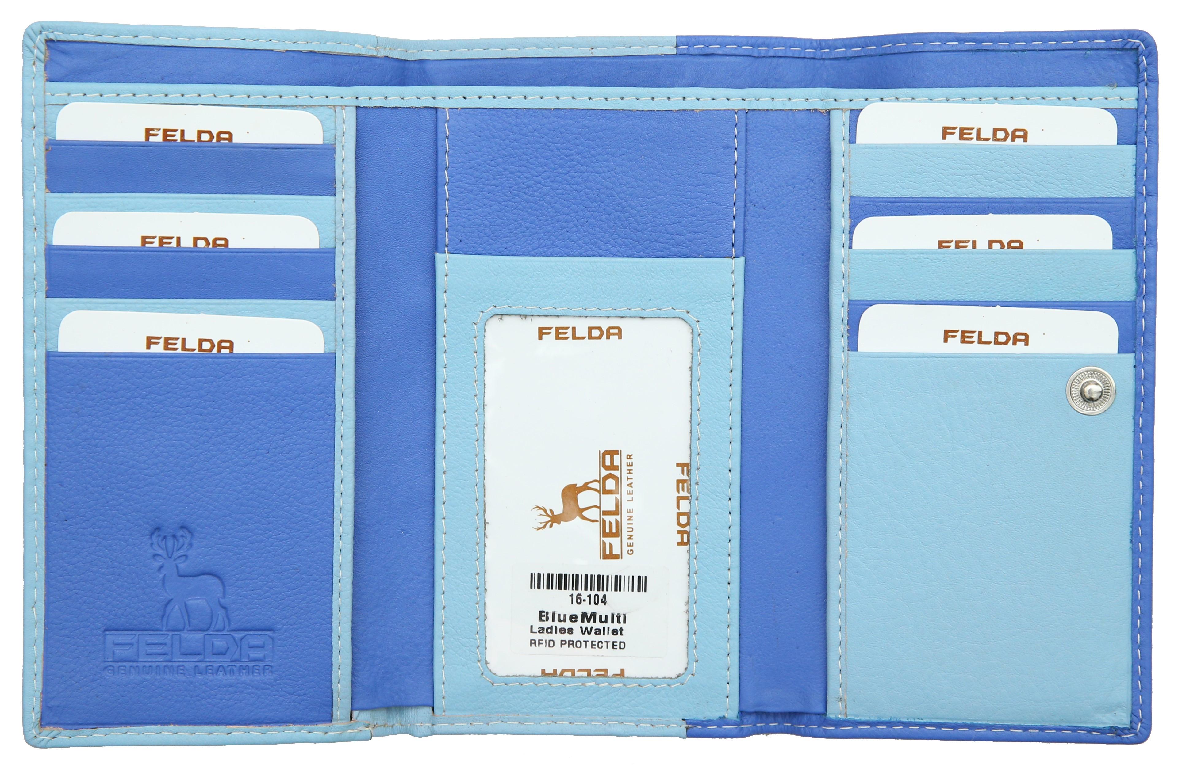 Felda-Portefeuille-pour-cartes-de-credit-cuir-souple-plusieurs-coloris miniature 14