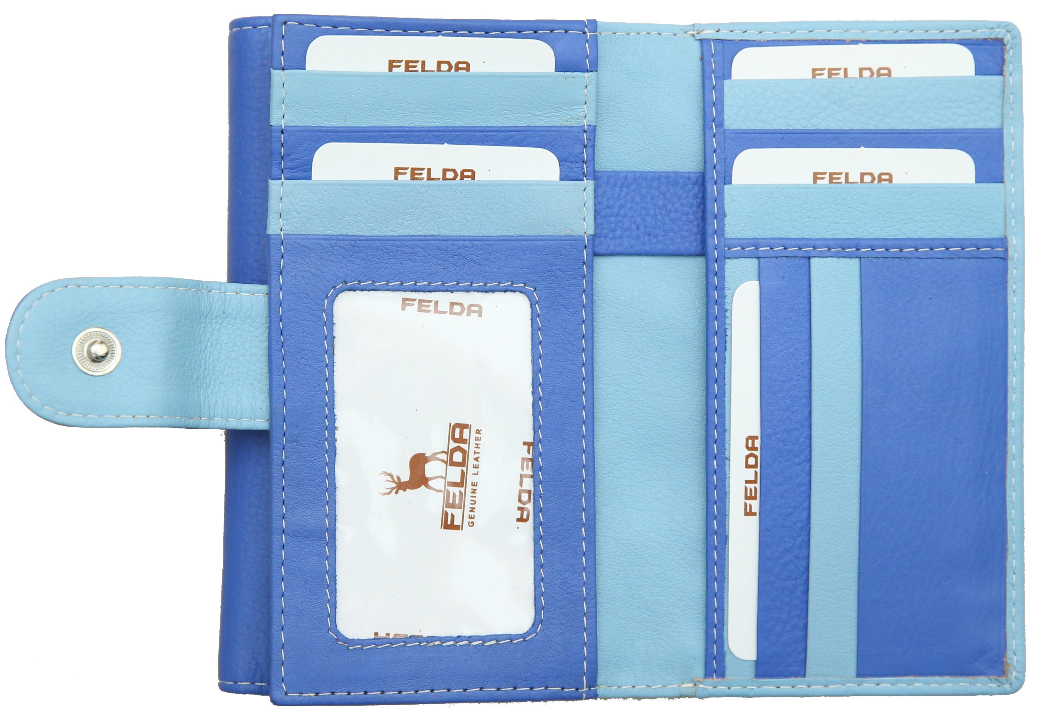 Felda-Portefeuille-pour-cartes-de-credit-cuir-souple-plusieurs-coloris miniature 15
