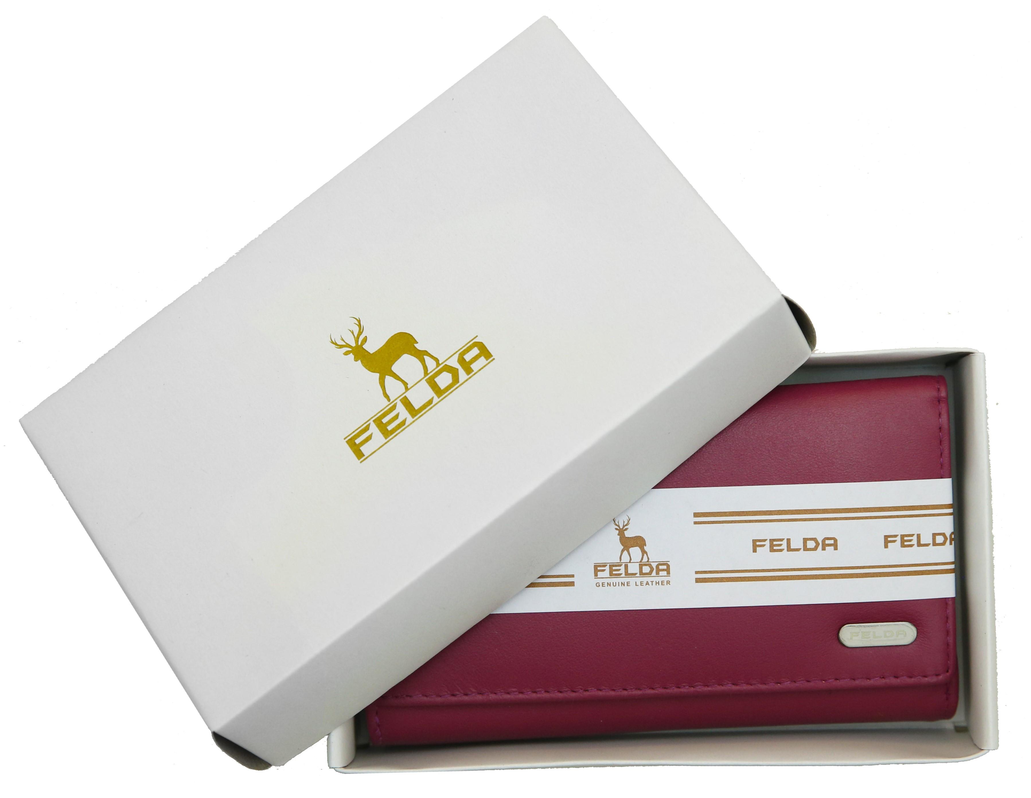 Felda-Portefeuille-pour-cartes-de-credit-cuir-souple-plusieurs-coloris miniature 18