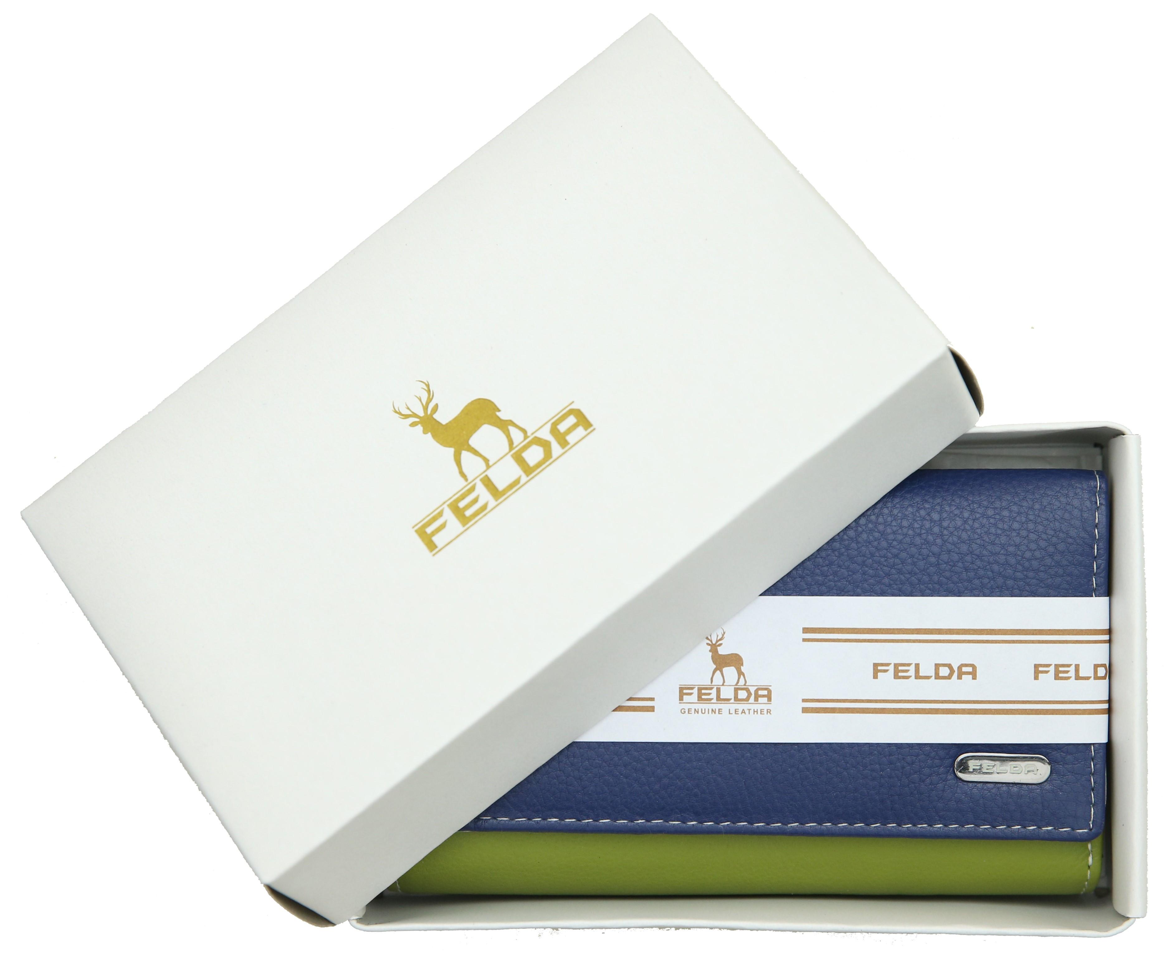 Felda-Portefeuille-pour-cartes-de-credit-cuir-souple-plusieurs-coloris miniature 8