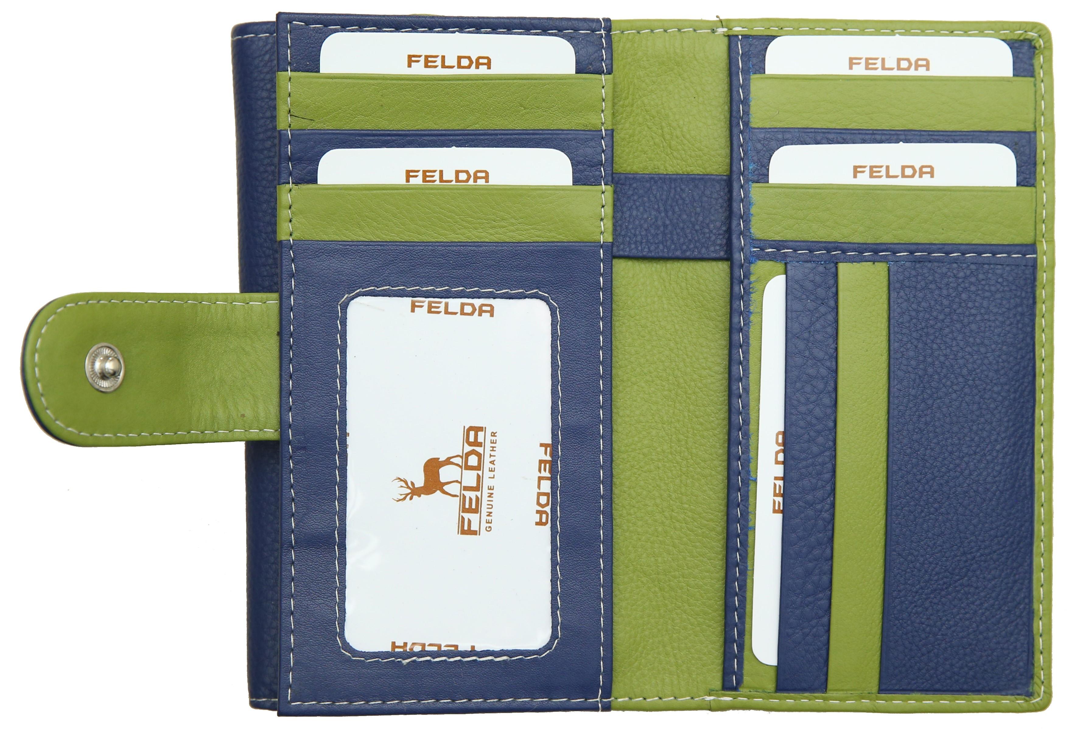 Felda-Portefeuille-pour-cartes-de-credit-cuir-souple-plusieurs-coloris miniature 10