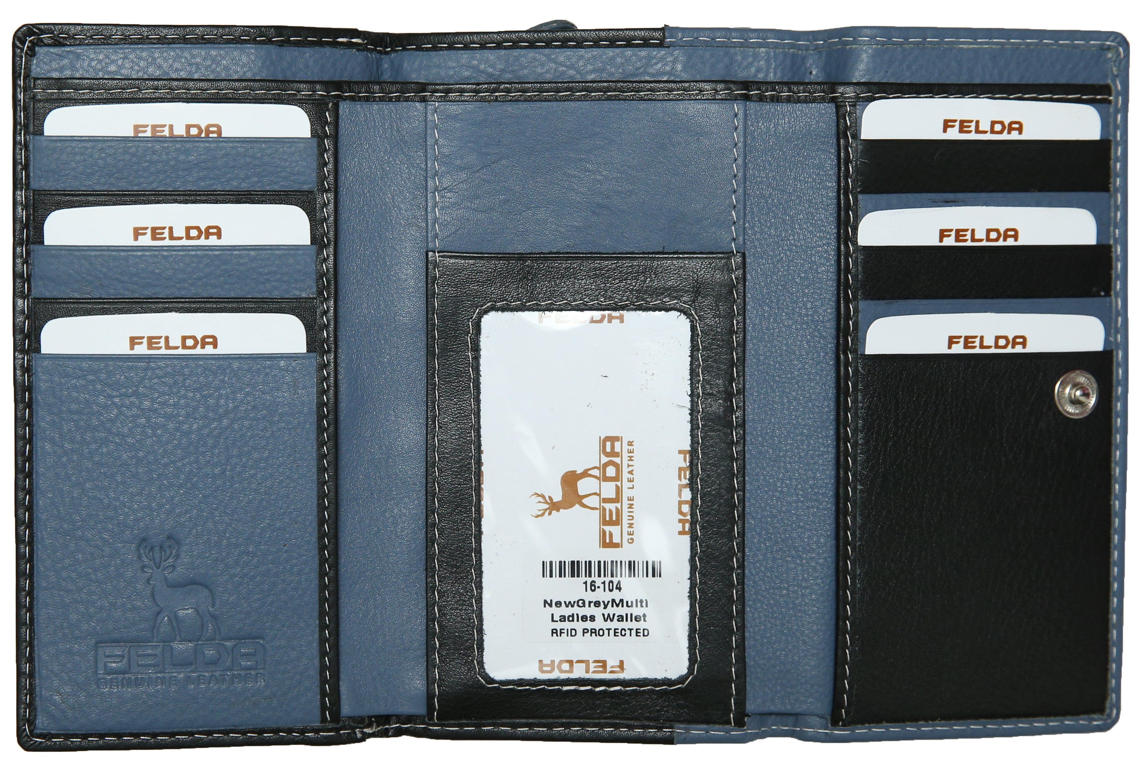 Felda-Portefeuille-pour-cartes-de-credit-cuir-souple-plusieurs-coloris miniature 30