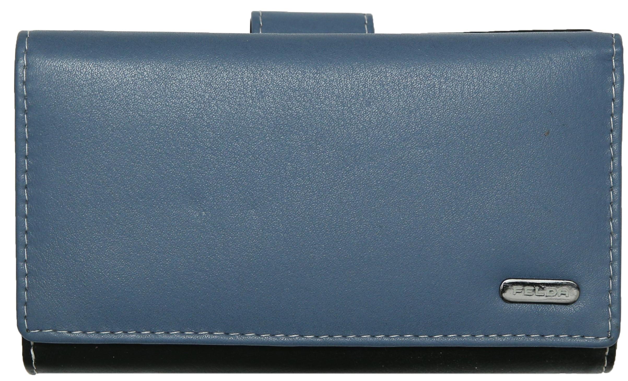 Felda-Portefeuille-pour-cartes-de-credit-cuir-souple-plusieurs-coloris miniature 27