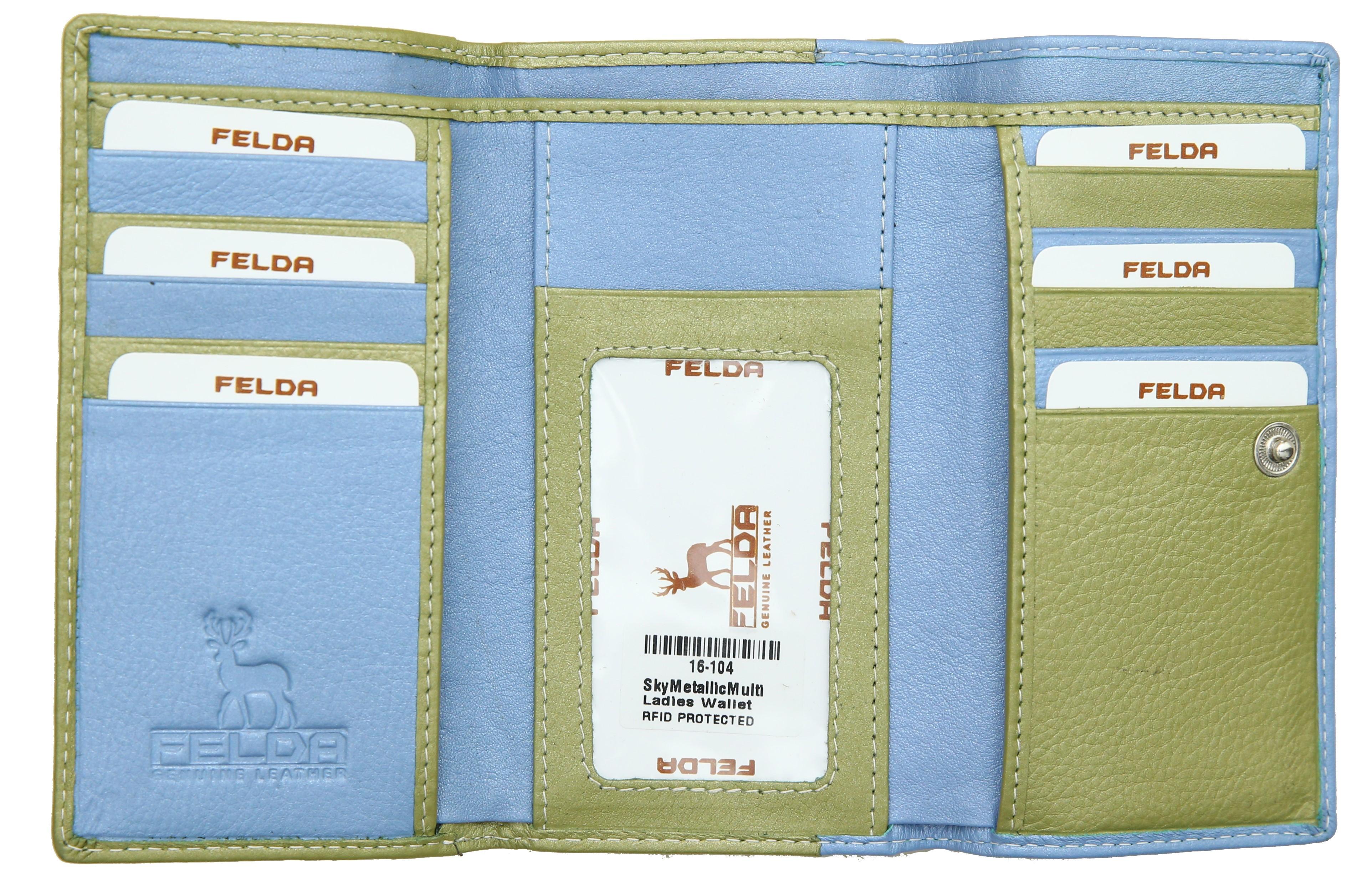 Felda-Portefeuille-pour-cartes-de-credit-cuir-souple-plusieurs-coloris miniature 25
