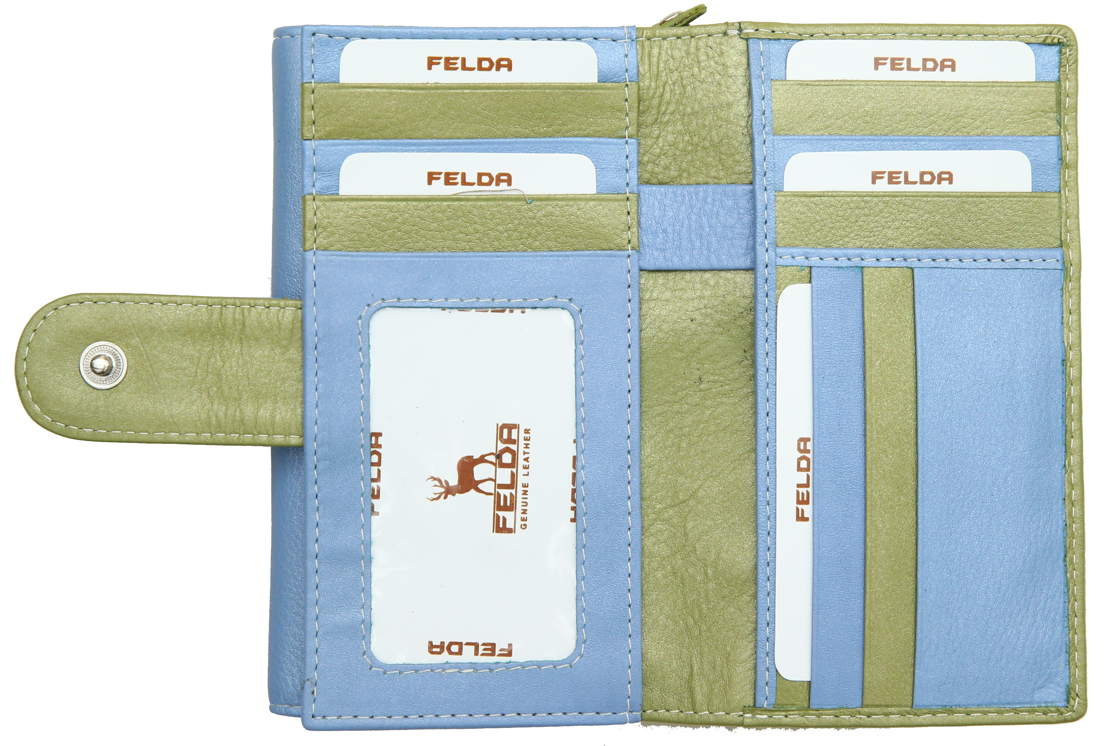 Felda-Portefeuille-pour-cartes-de-credit-cuir-souple-plusieurs-coloris miniature 24