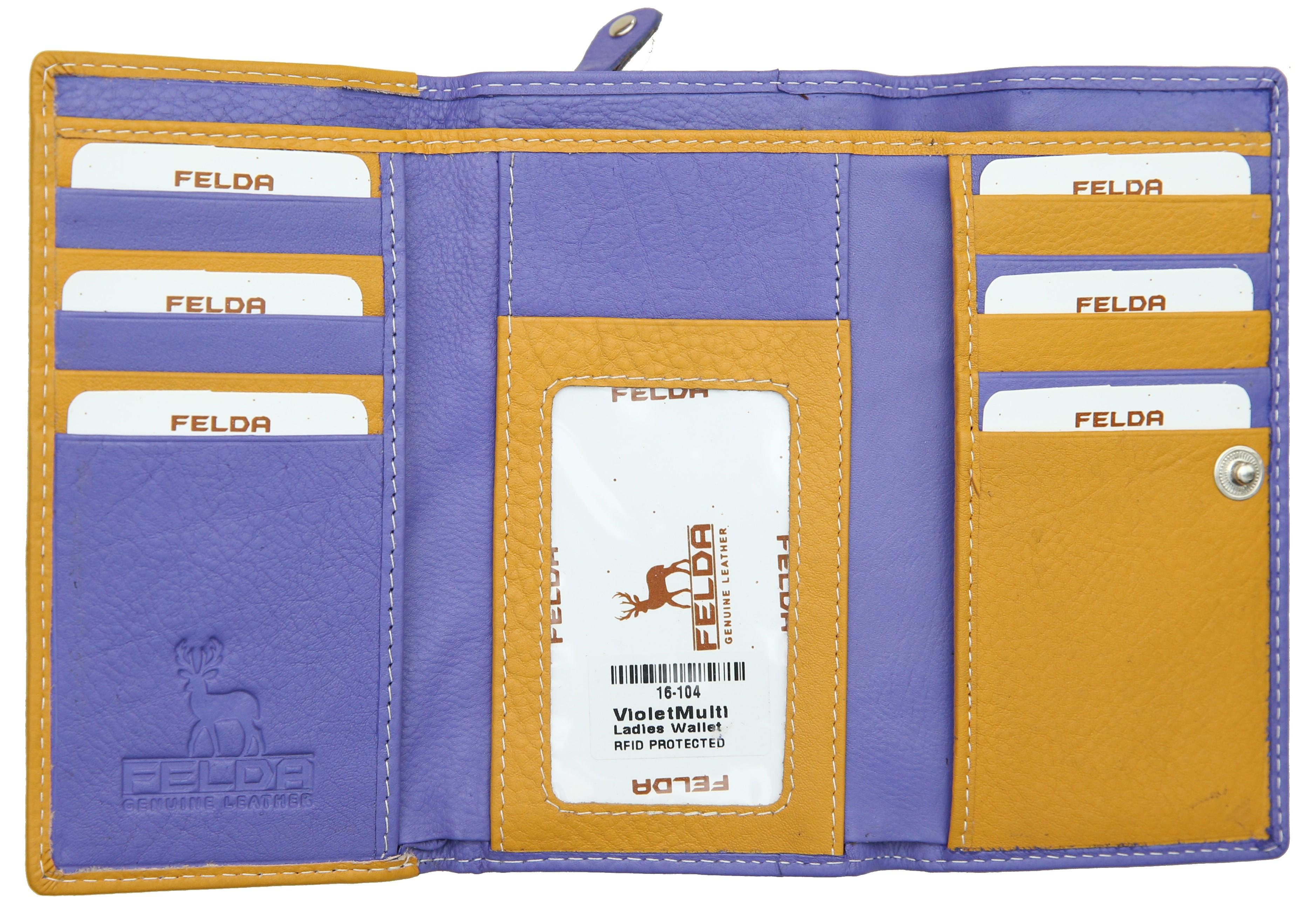 Felda-Portefeuille-pour-cartes-de-credit-cuir-souple-plusieurs-coloris miniature 34