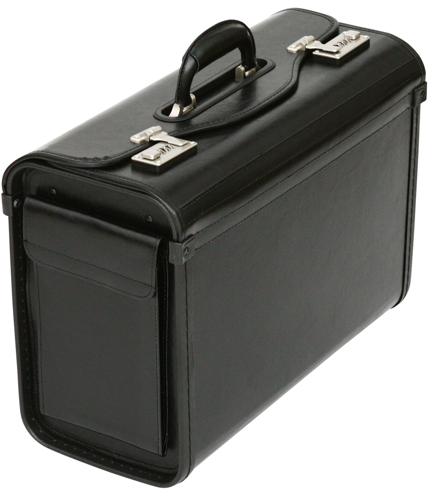ef4d8fa406 Bonded Leather Pilot Case Doctor Briefcase Hand Luggage Flight Cabin  Business Bag. Executive ...