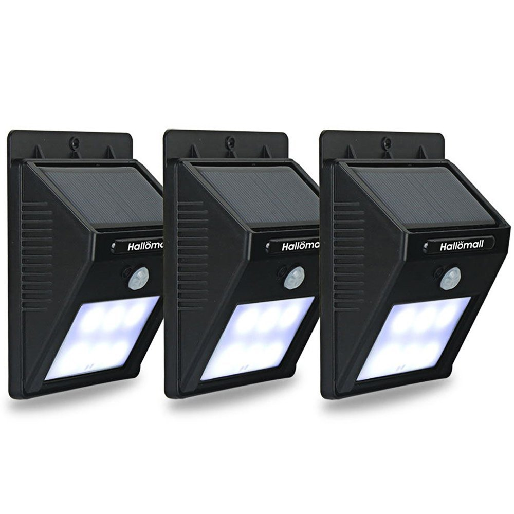Hallomall outdoor motion sensor solar wall lights 631005162044 ebay hallomall outdoor motion sensor solar wall lights mozeypictures Gallery