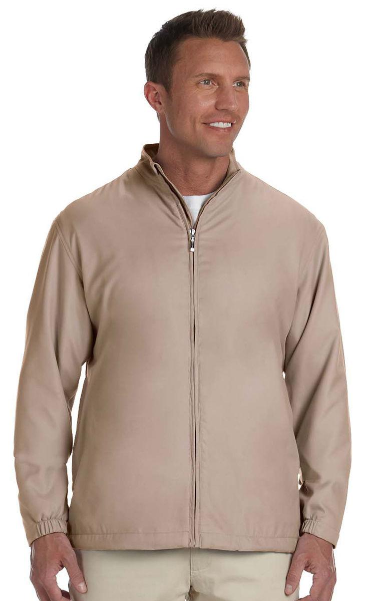 Ashworth-Men-039-s-Front-Pocket-Full-Zip-Lined-Polyester-Wind-Jacket-S-4XL-5378 thumbnail 8
