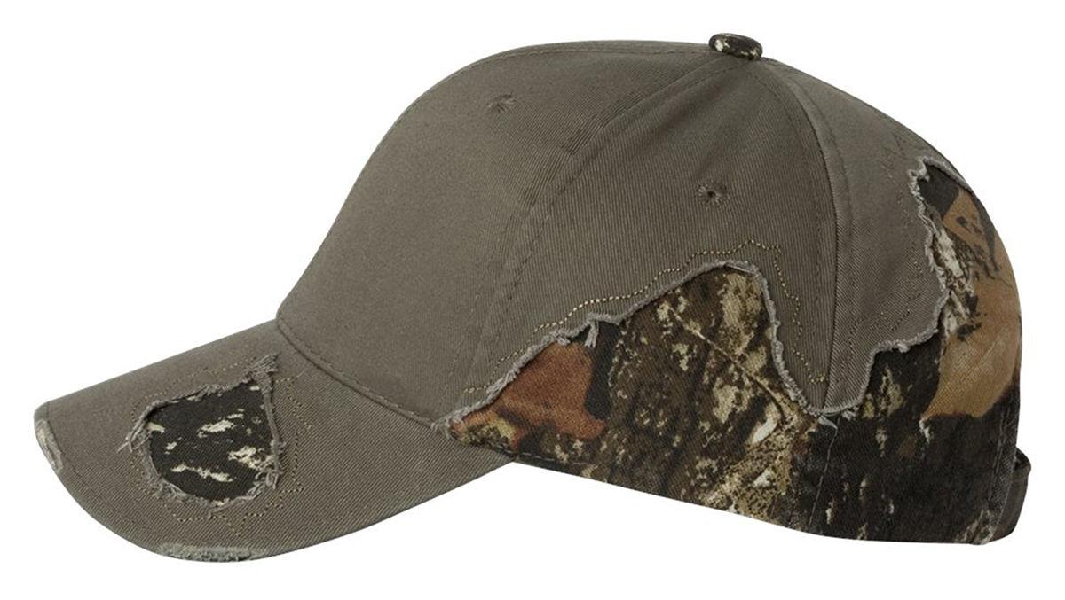 c44c3404c5c Outdoor Cap Frayed Camouflage Camo Hat BSH350 Mossy Oak Break-Up   Realtree