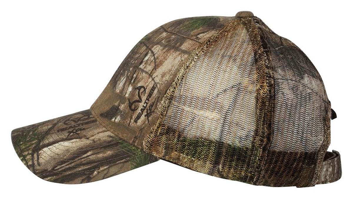 600ee27c7cc Outdoor Cap Structured 6 Panel Cap Mesh Camo Baseball Hat. 315M