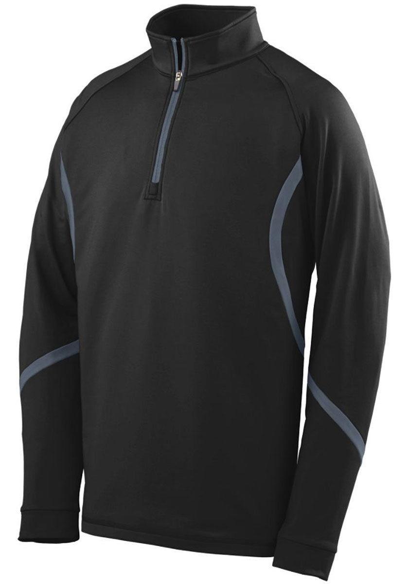 Augusta-Sportswear-Men-039-s-4-Way-Stretch-Half-Zip-Winter-Pullover-S-3XL-4760 thumbnail 3
