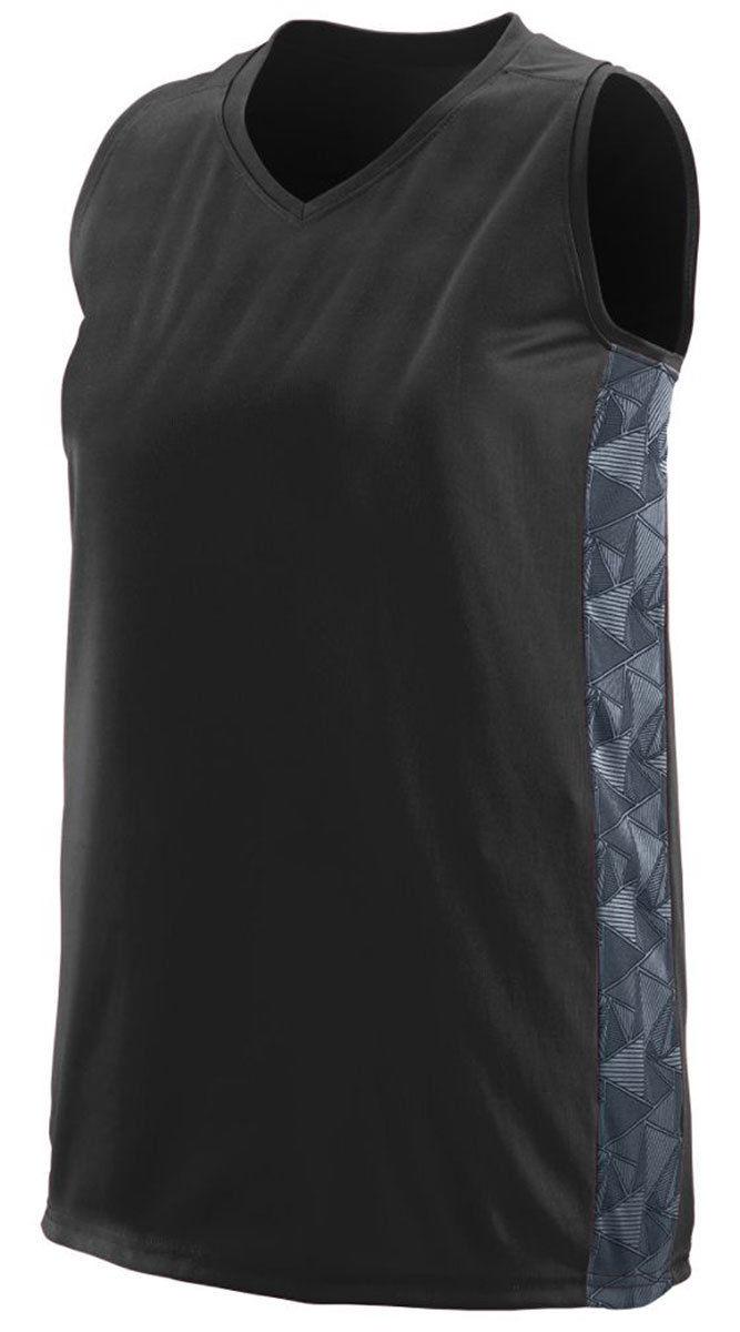 641ad4d65 Augusta Sportswear Women s V Neck Fast Break Racerback Jersey T-Shirt. 1722