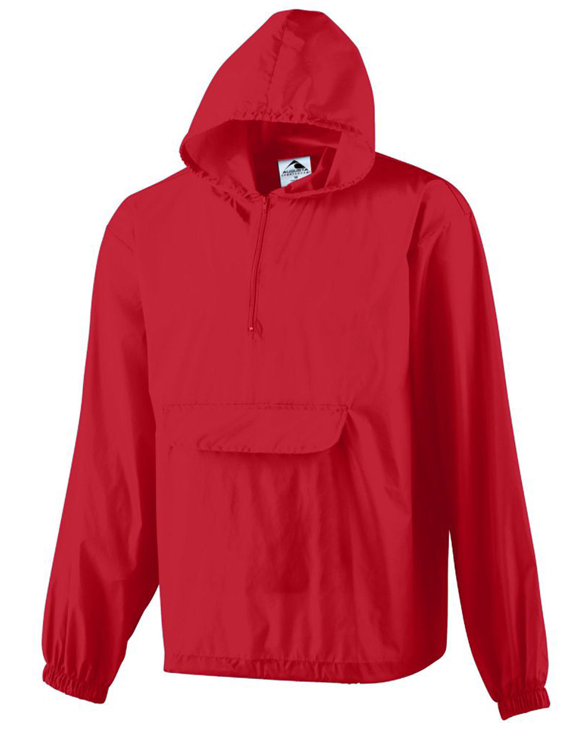 Augusta Sportswear Packable Half-Zip Pullover Jacket 3130 S-3XL ...