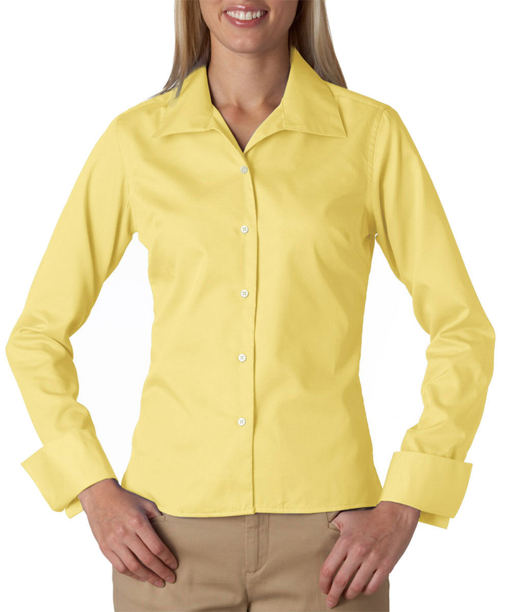 Womens French Cuff Blouse