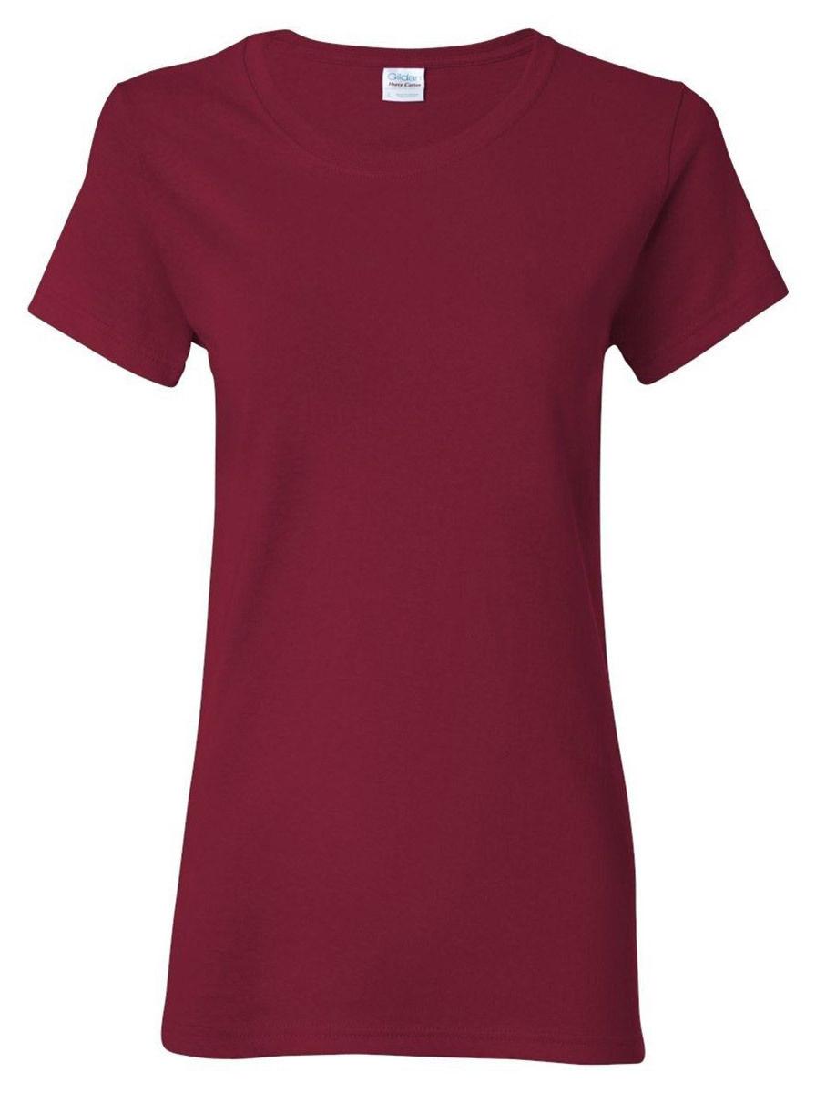 Gildan WOMEN T-SHIRTS BLANK BULK LOT Any Color Buyer
