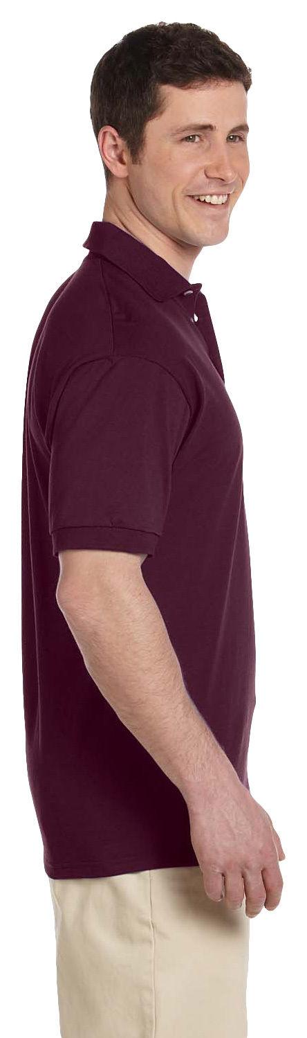 Jerzees-Men-039-s-Heavyweight-Jersey-Welt-Knit-Collar-Bottom-Hem-Polo-Shirt-J100 thumbnail 13