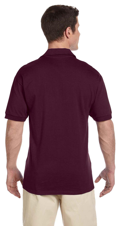 Jerzees-Men-039-s-Heavyweight-Jersey-Welt-Knit-Collar-Bottom-Hem-Polo-Shirt-J100 thumbnail 12