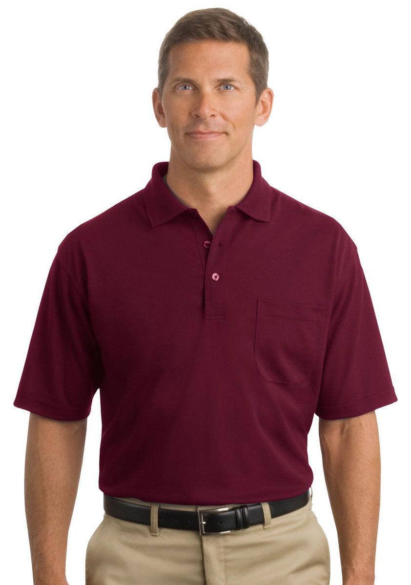 Cornerstone men 39 s flat knit short sleeve industrial pocket for Mens two pocket short sleeve shirts