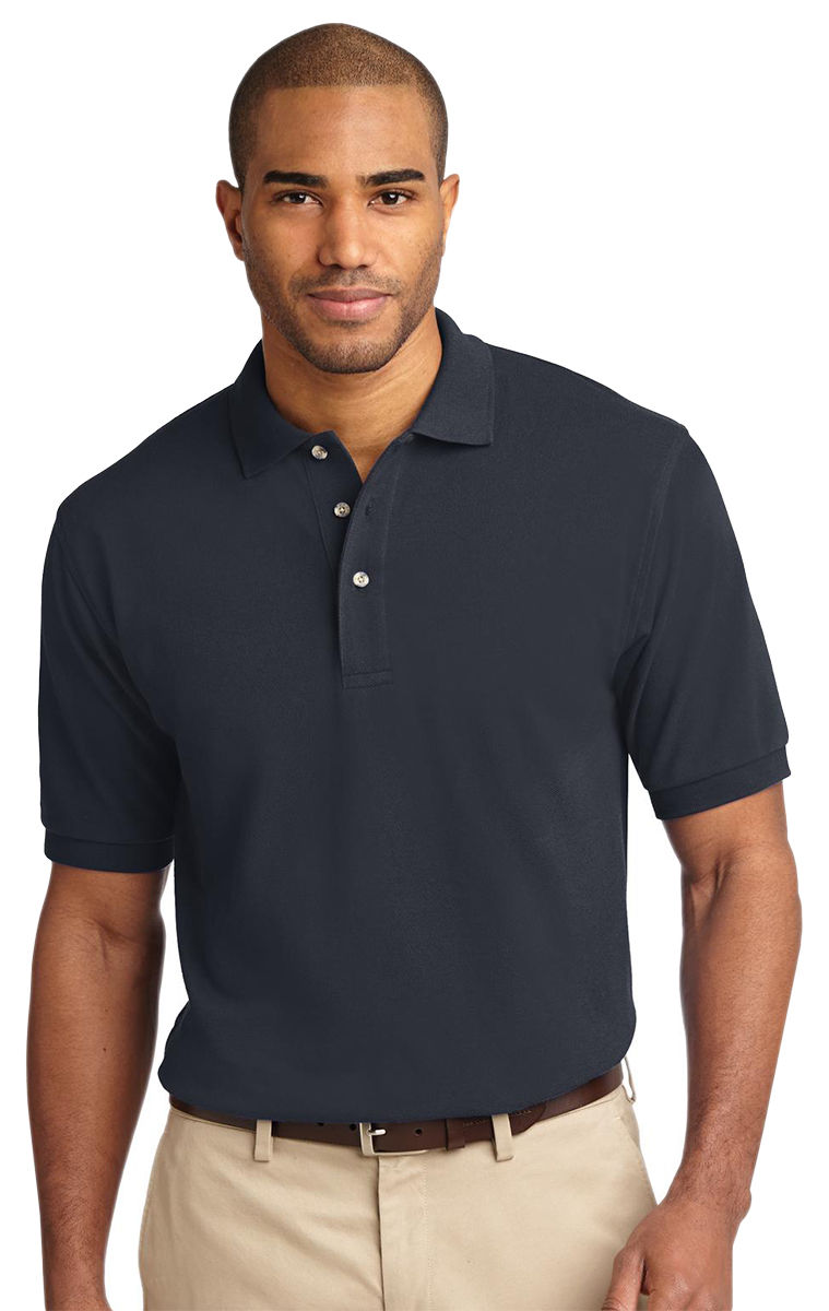 Port Authority Men 39 S Short Sleeve 100 Cotton Golf Polo