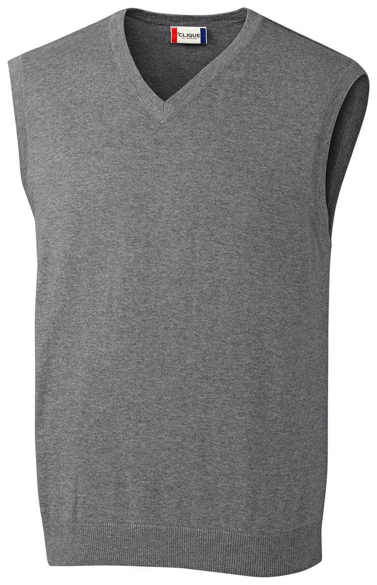 e5ccf4162e83 Clique Men s Imatra 100% Cotton V Neck Sweater Jersey Vest. MQS00003 ...