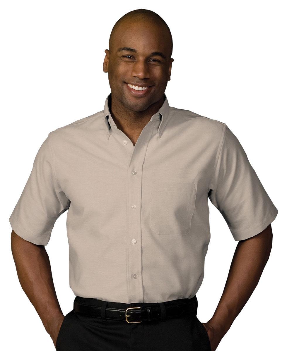Edwards Garment Men's Short Sleeve Button Down Pocket ...