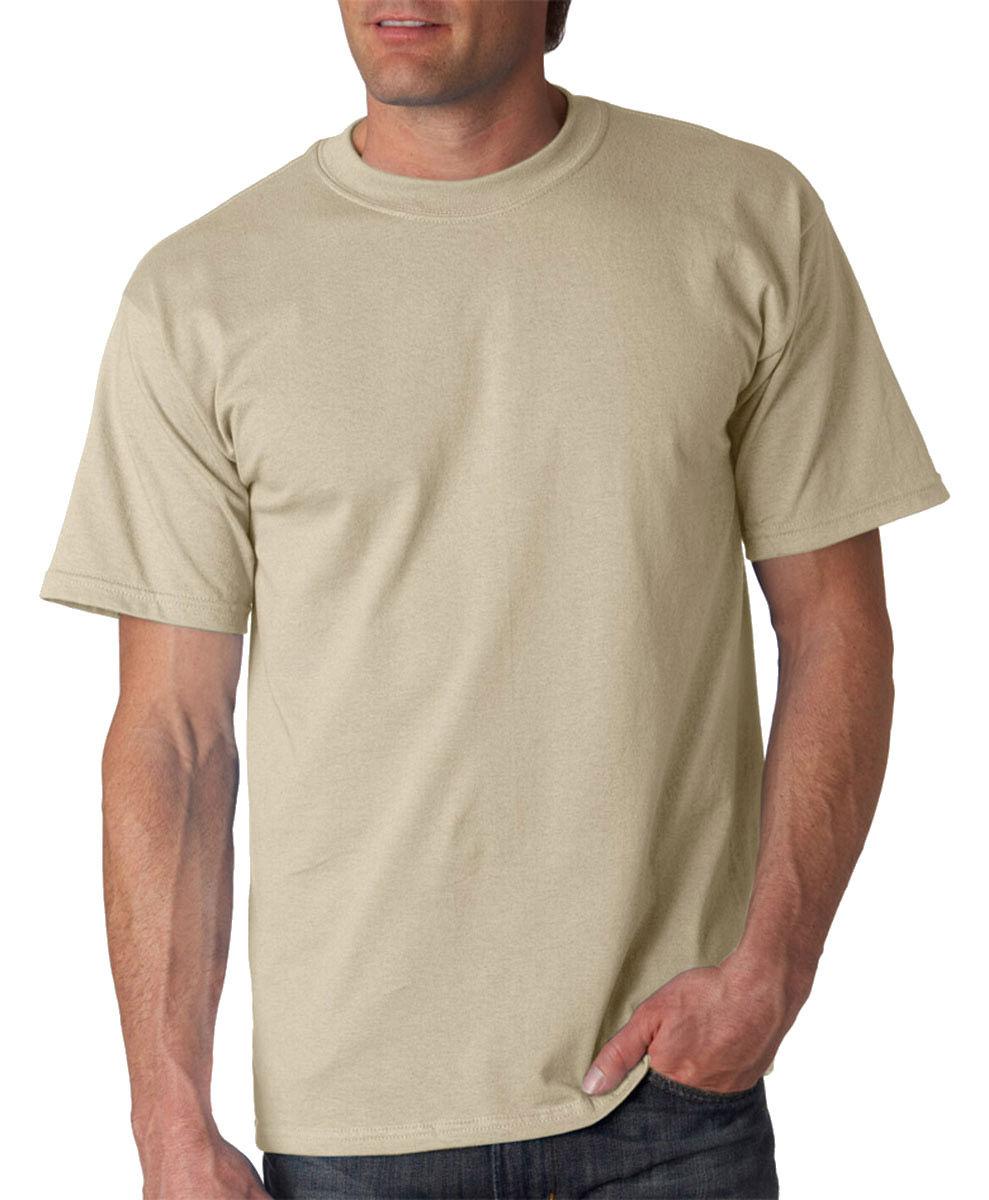 NEW-Gildan-T-Shirt-Men-039-s-Short-Sleeve-6-1-oz-Ultra-Cotton-Size-Color-Choice-2000