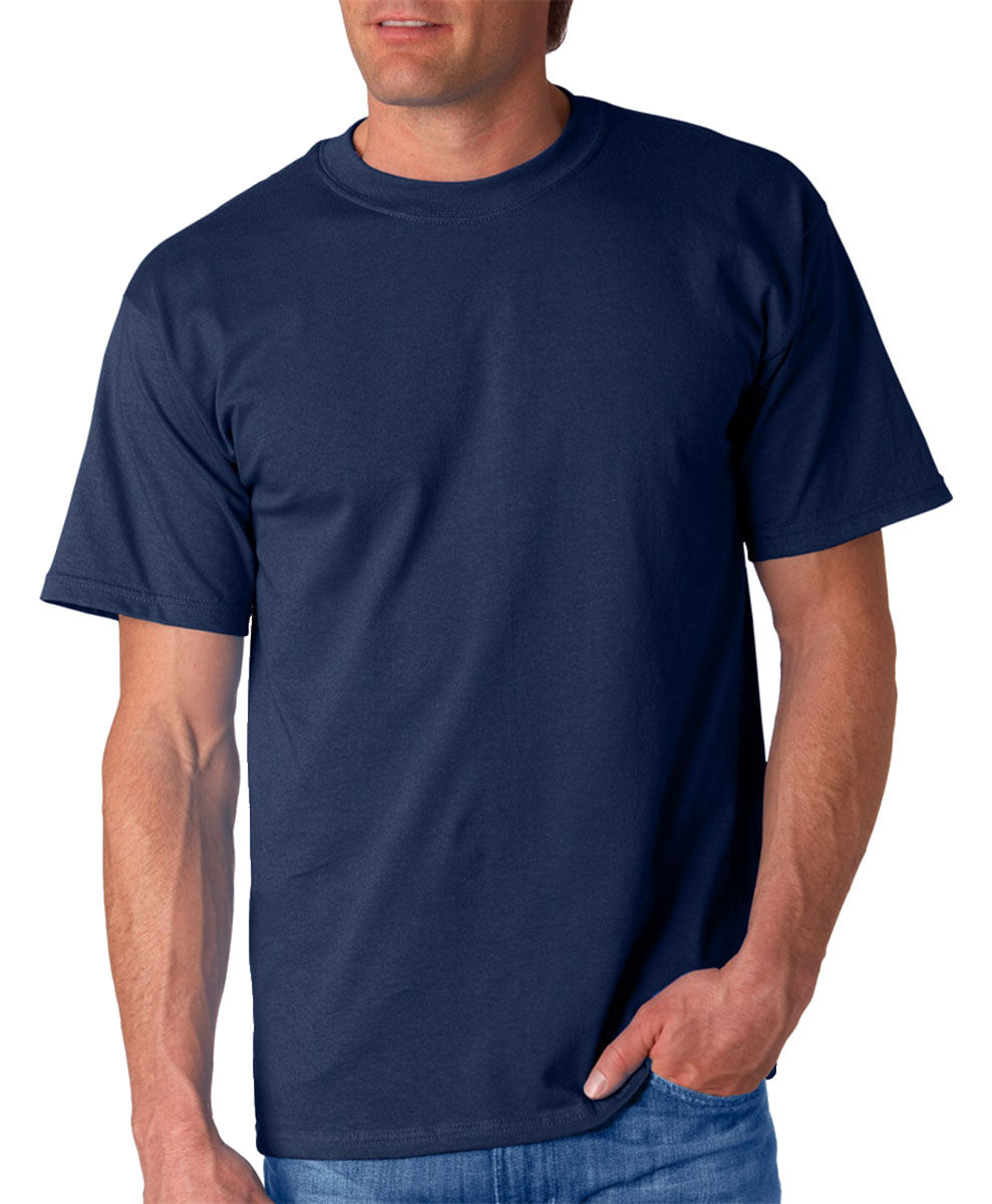 New gildan t shirt men 39 s short sleeve 6 1 oz ultra cotton for One color t shirt