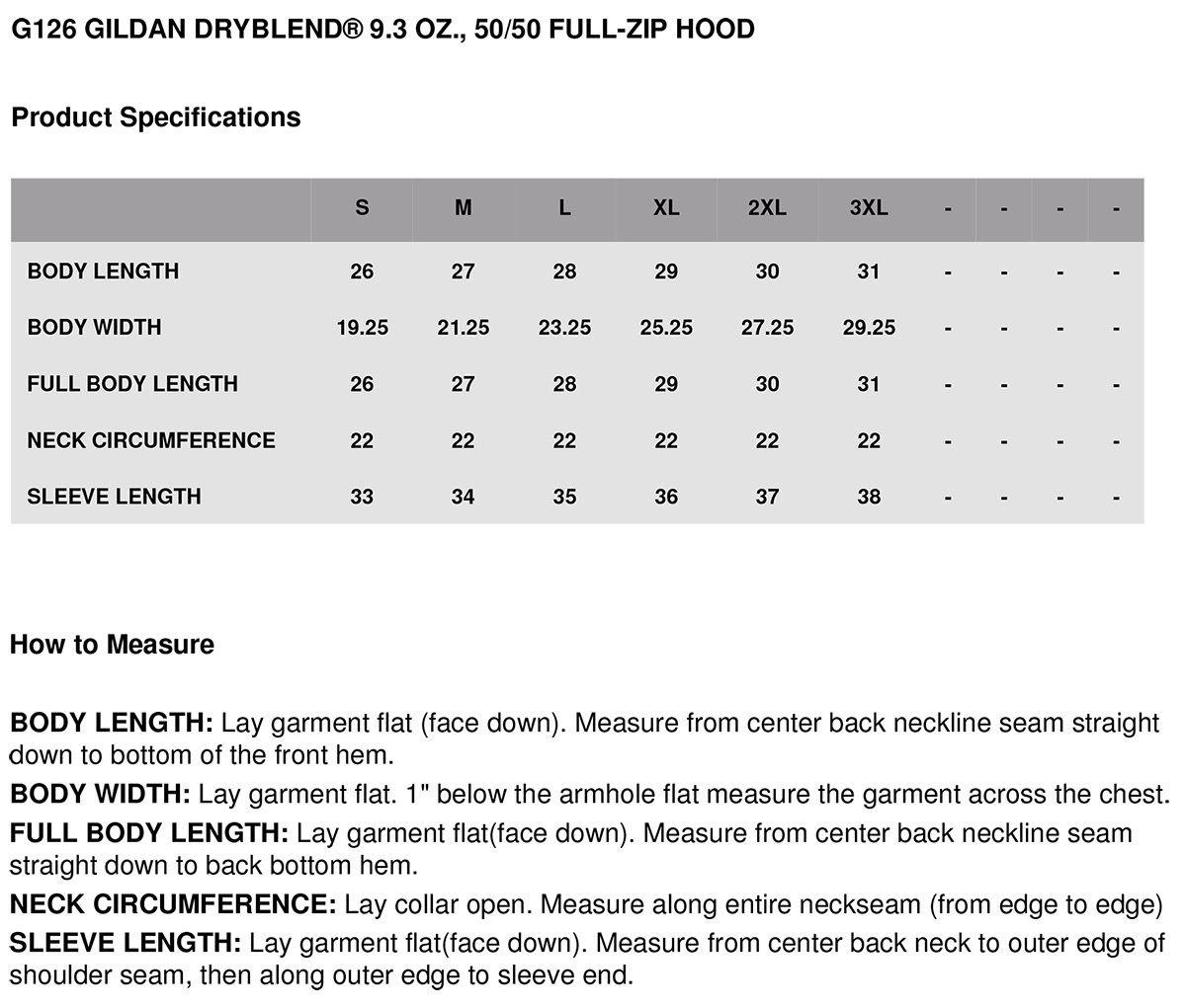 Gildan-Men-039-s-Pouch-Pocket-Performance-50-50-Ribbed-Cuffs-Full-Zip-Hoodie-G126 thumbnail 6