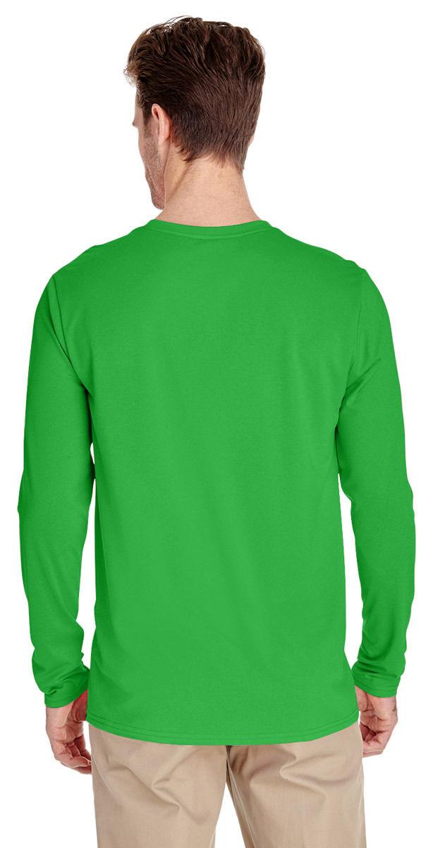 Gildan-Men-039-s-New-Casual-Long-Sleeve-Polyester-Wicking-Jersey-T-Shirt-G474 thumbnail 7