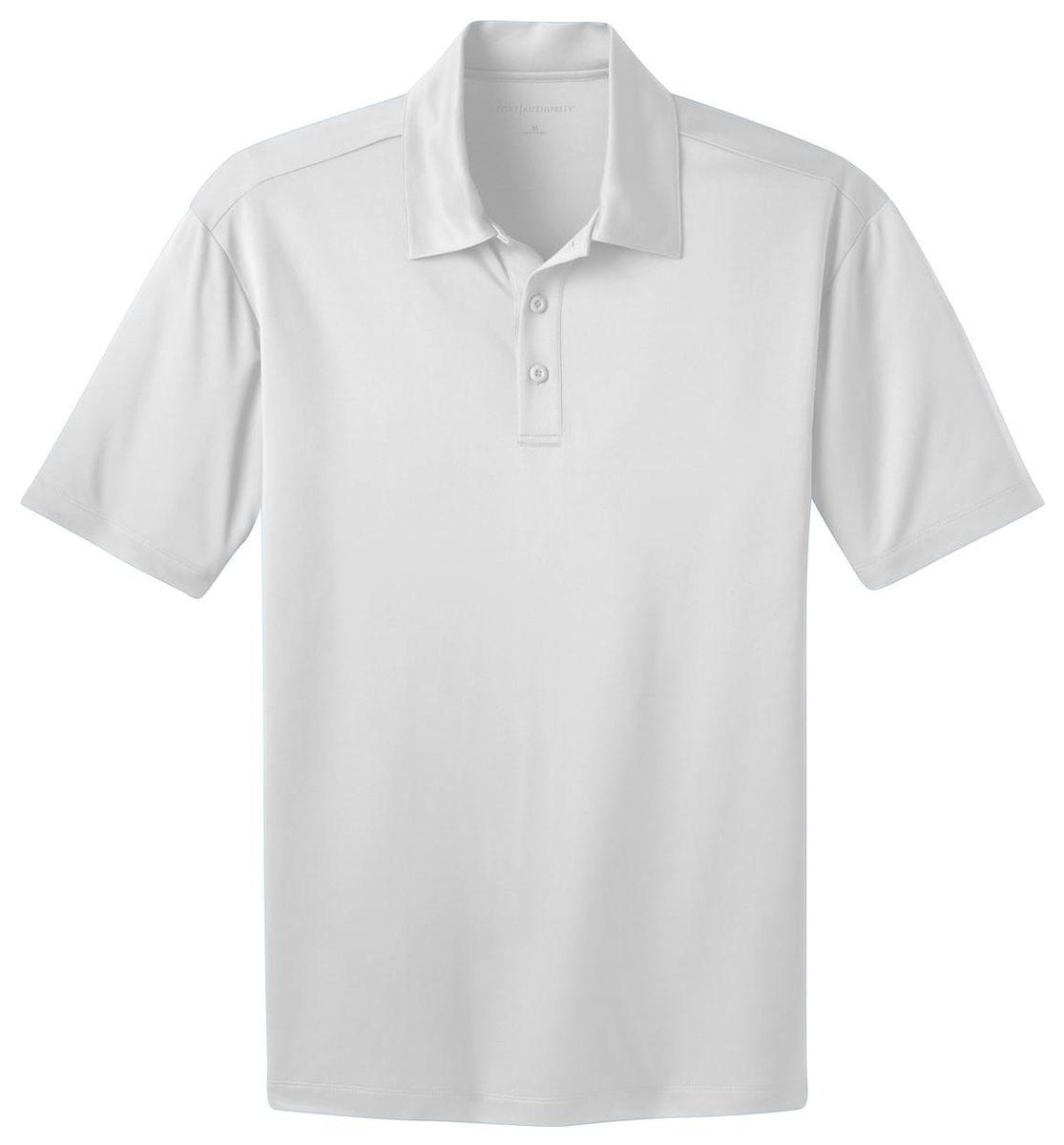 Port Authority Tlk540 Mens Tall Silk Touch Dri Fit Polo Shirt Lt
