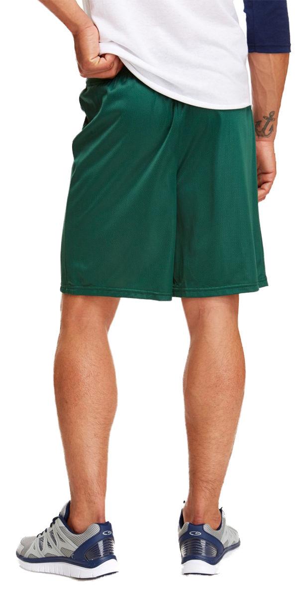 Soffe-Men-039-s-Nylon-Baggy-Legs-Elastic-Waistband-Drawstring-Mini-Mesh-Short-M058 thumbnail 7
