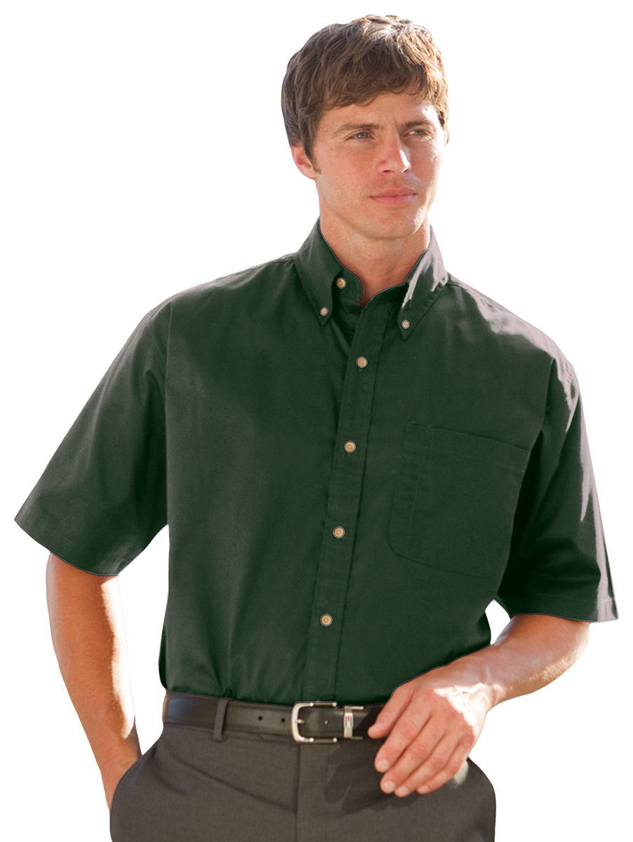Jonathan Corey Jc00623hg0000a Short Sleeve Performance Brush 623 Hunter Green 6xl