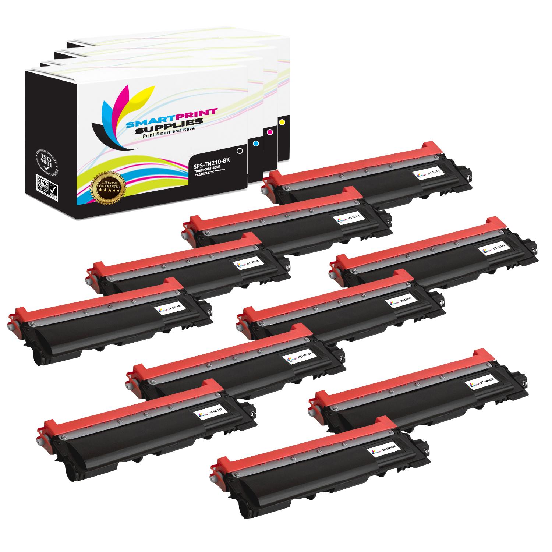 10x PK TN210 Premium Toner For Brother MFC-9010CN MFC-9120CN HL-3075CW MFC-9010