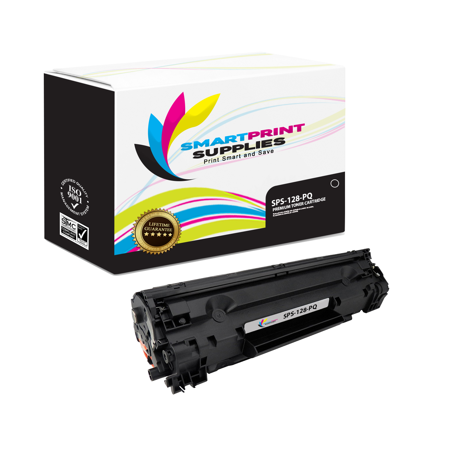 USA Advantage Compatible Toner Cartridge Replacement for Canon 128 Black,1 Pack 3500B001AA for Use with ImageClass MF4580dn
