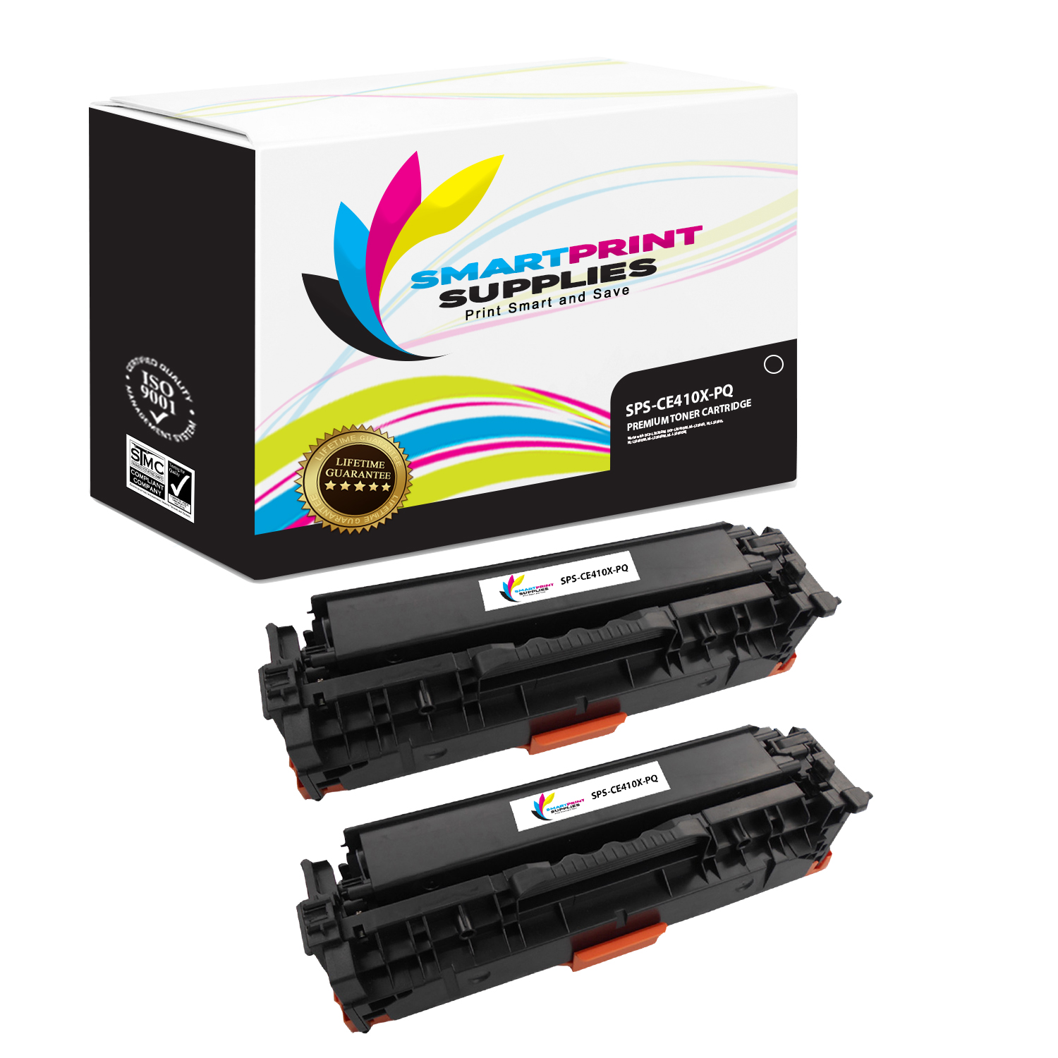 2pk CE413A Magenta Toner Cartridge for HP Color LaserJet Pro 300 M375 MFP M375nw