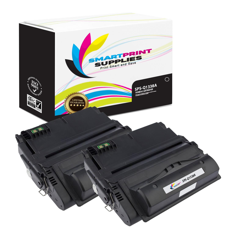 1 PK Black High Yield Toner Cartridge Q1338A Compatible LaserJet 4200dtn Printer