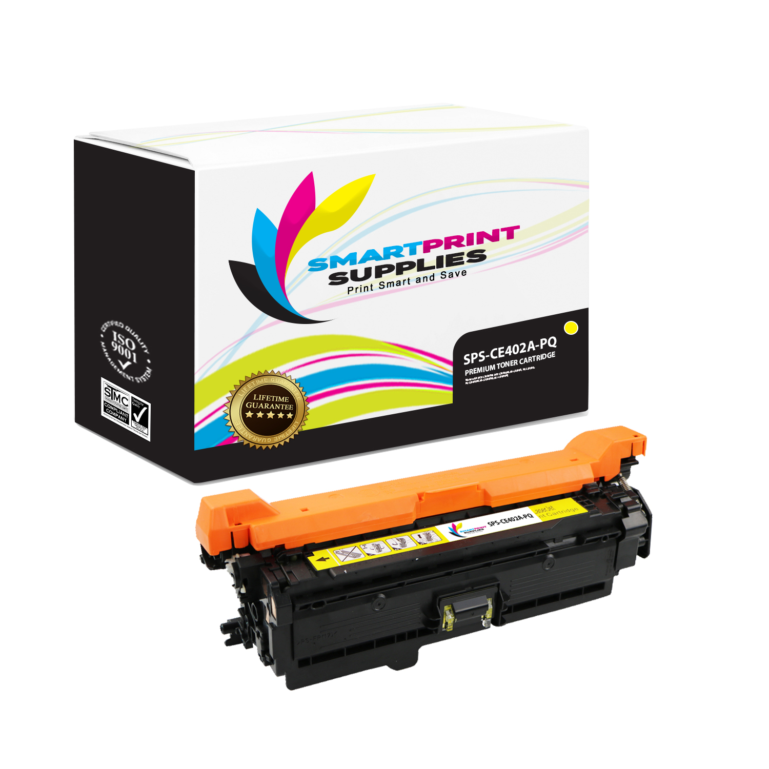 1PK Cyan Toner For HP CE401A 507A LaserJet Enterprise 500 Color M551dn MFP M575f
