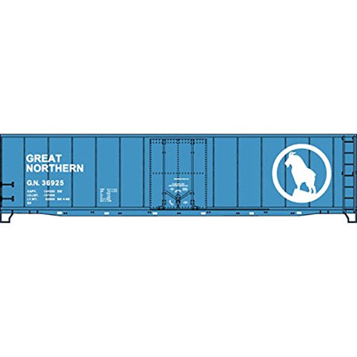 Accurail-5135-HO-Scale-KIT-50-FT-Plug-Door-Riveted-Side-Boxcar-Great-Northern