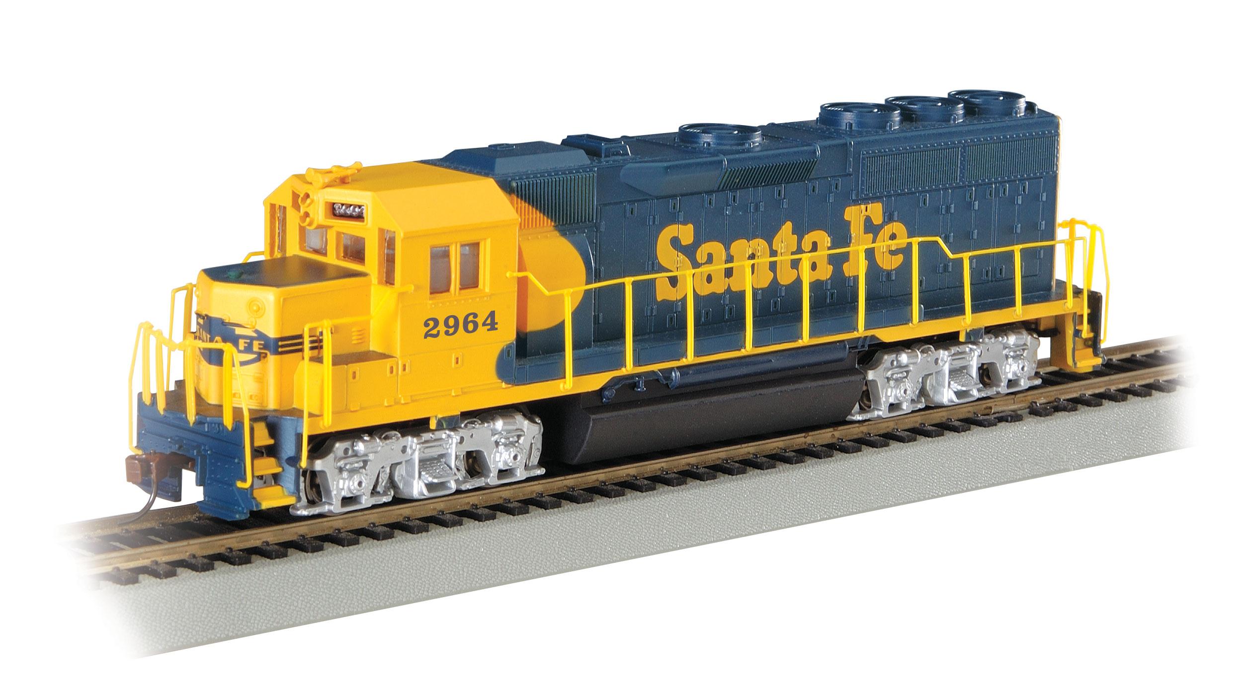Bachmann 63526 HO Scale SF GP40 LOCO  2964