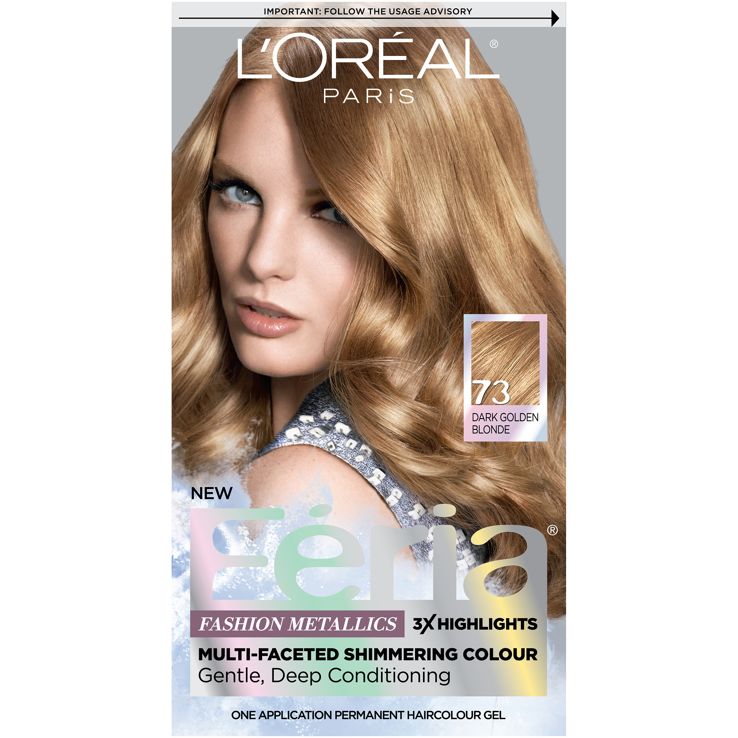Women Loreal Paris Feria Multi Faceted Shimmering Color3x
