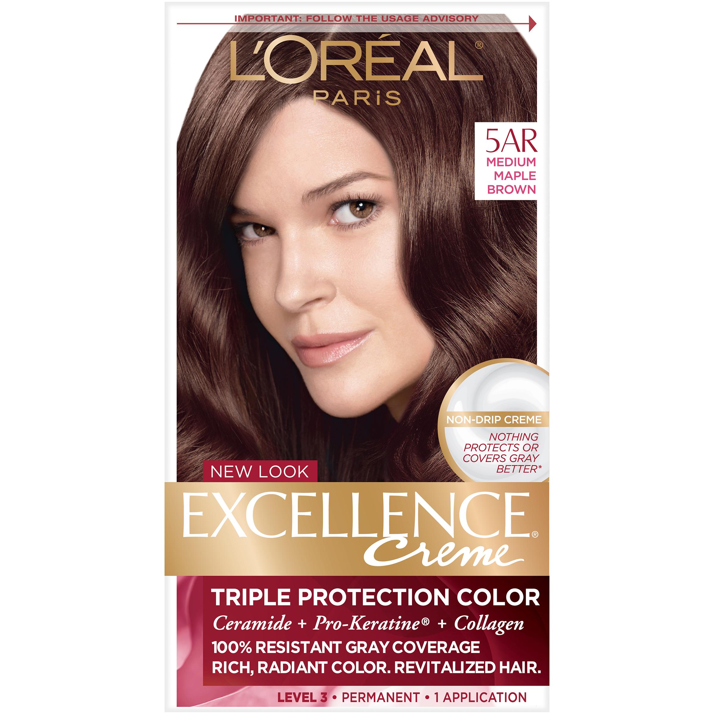 Loreal Paris Excellence Richesse Creme Hair Color 4rm Dark Mahogany
