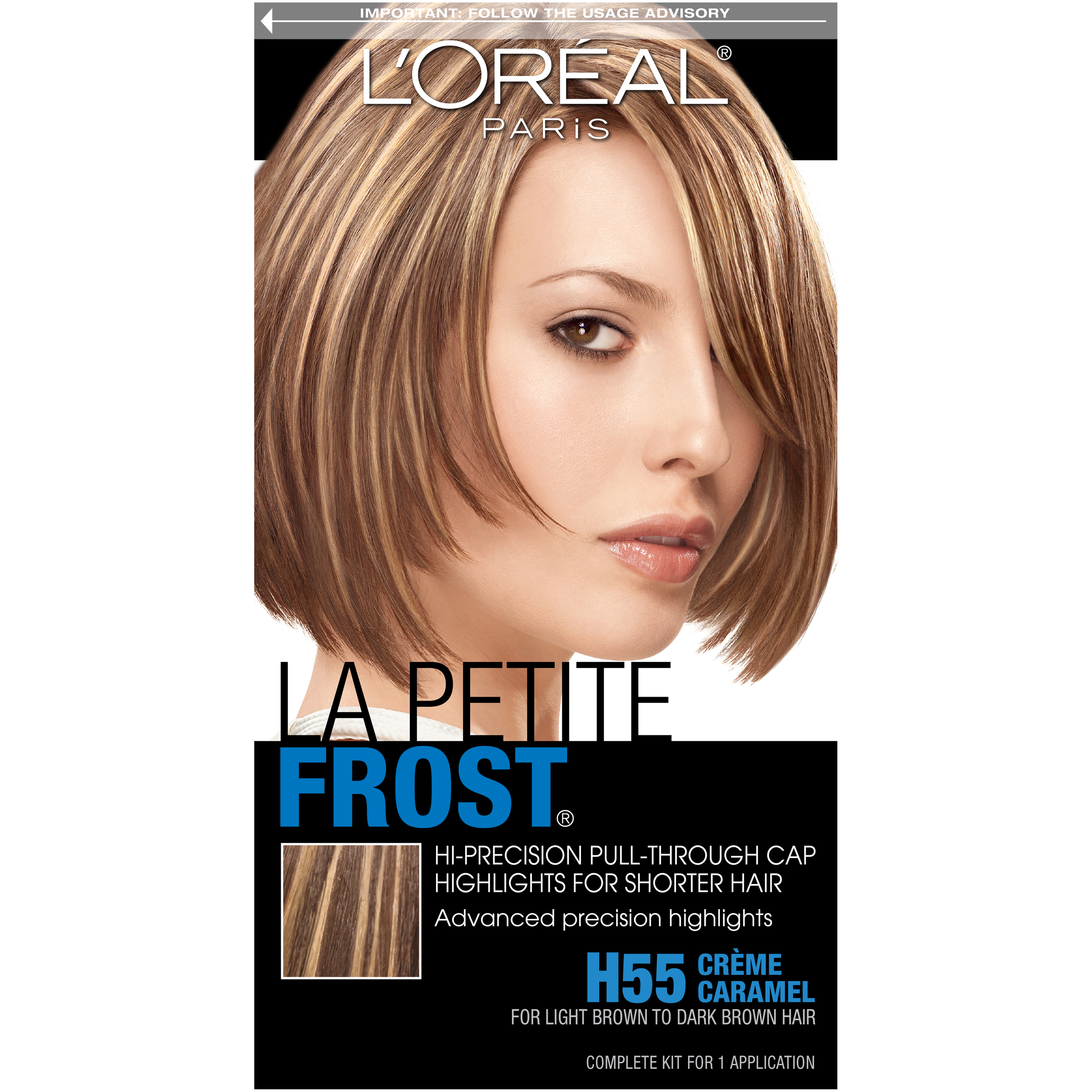 Loreal Paris Sfx Pull Through Cap Highlights La Petite Frost H55