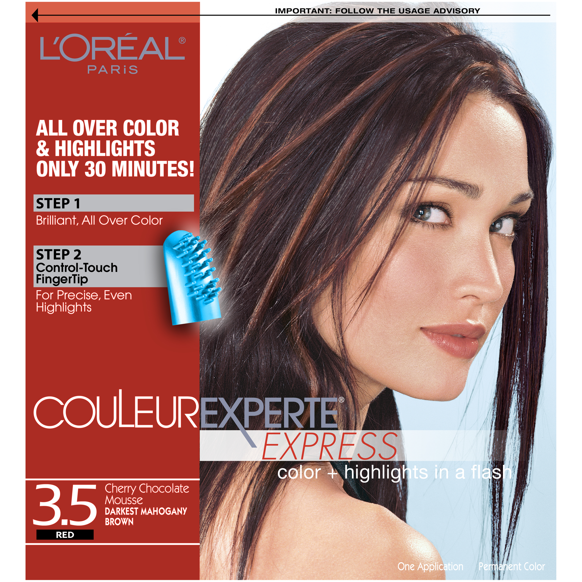 Loreal Paris Couleur Experte Express Hair Color 35 Red Cherry