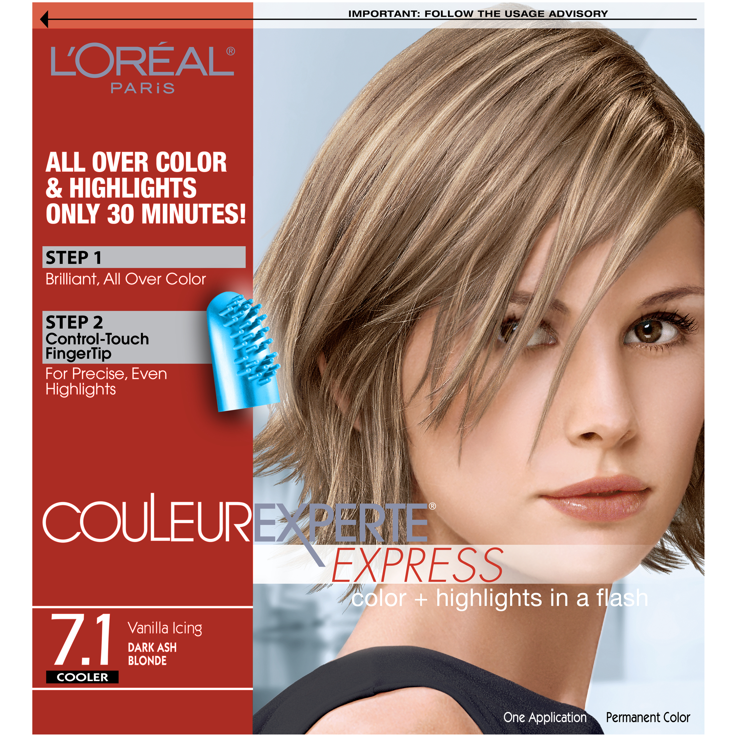 l or 233 al couleur experte hair color hair highlights