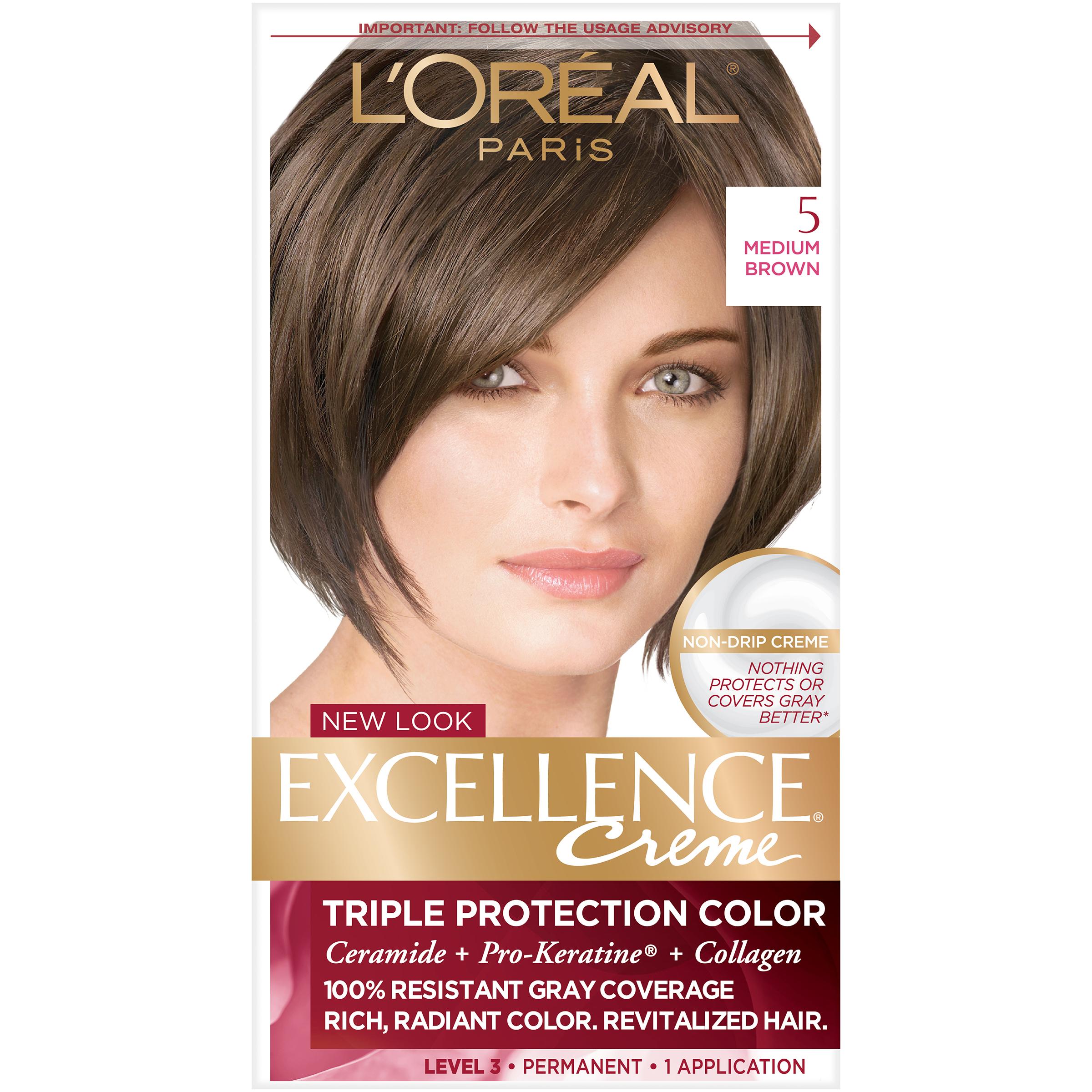 Loreal Paris Excellence Creme Triple Protection Hair Color 5