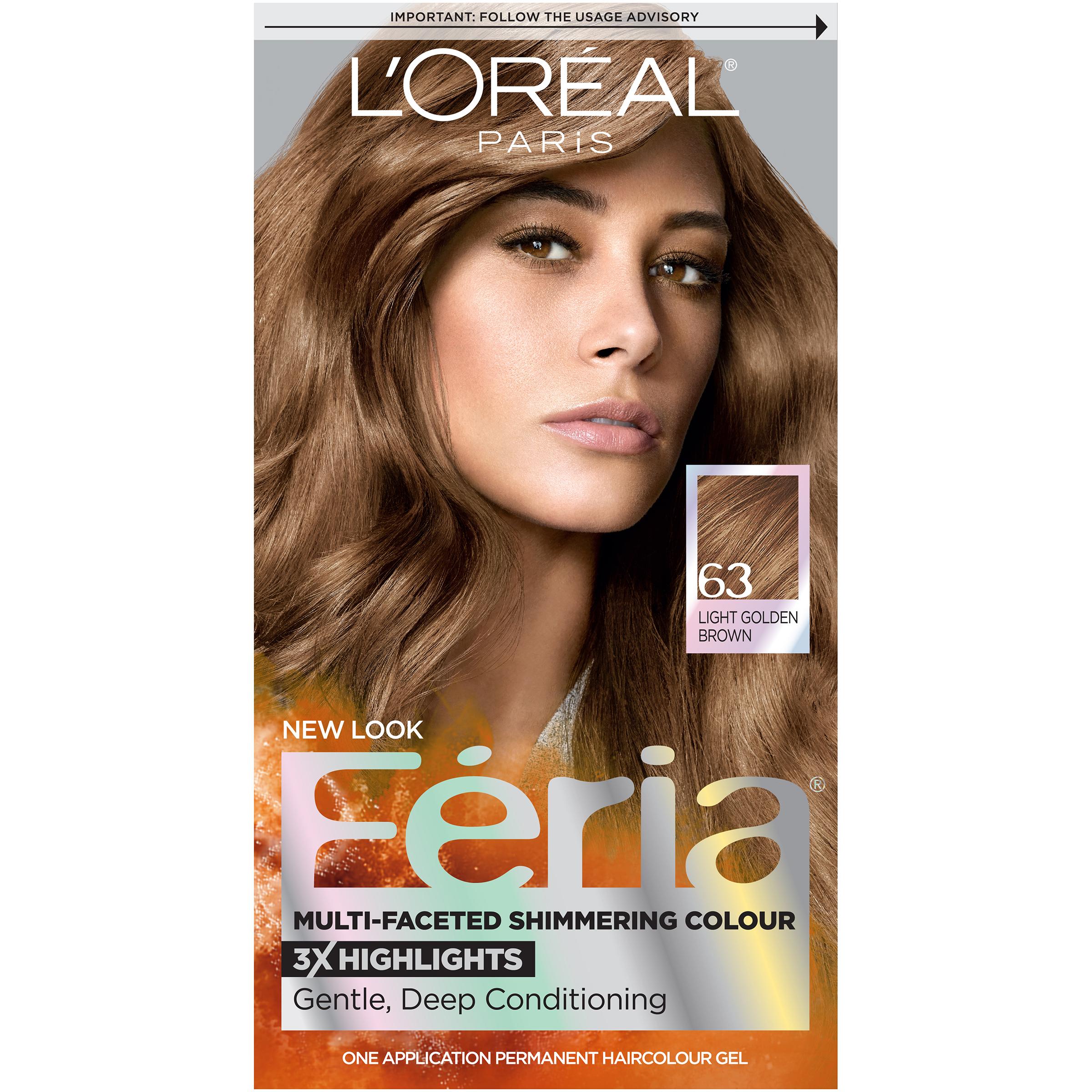 Loreal Paris Feria Shimmering Permanent Hair Color Polybull