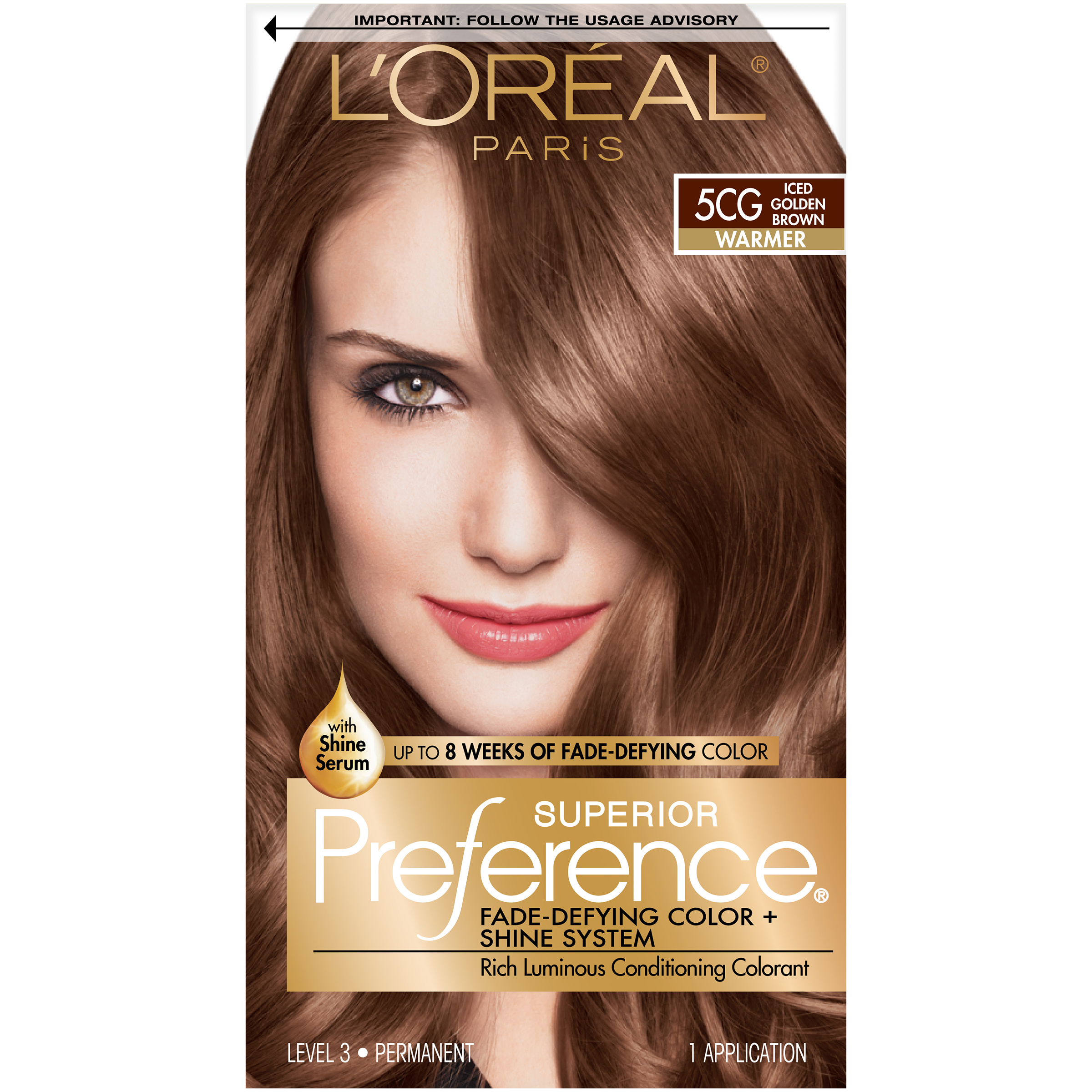 Loreal Paris Superior Preference Perm Hair Color 5cg Iced Golden