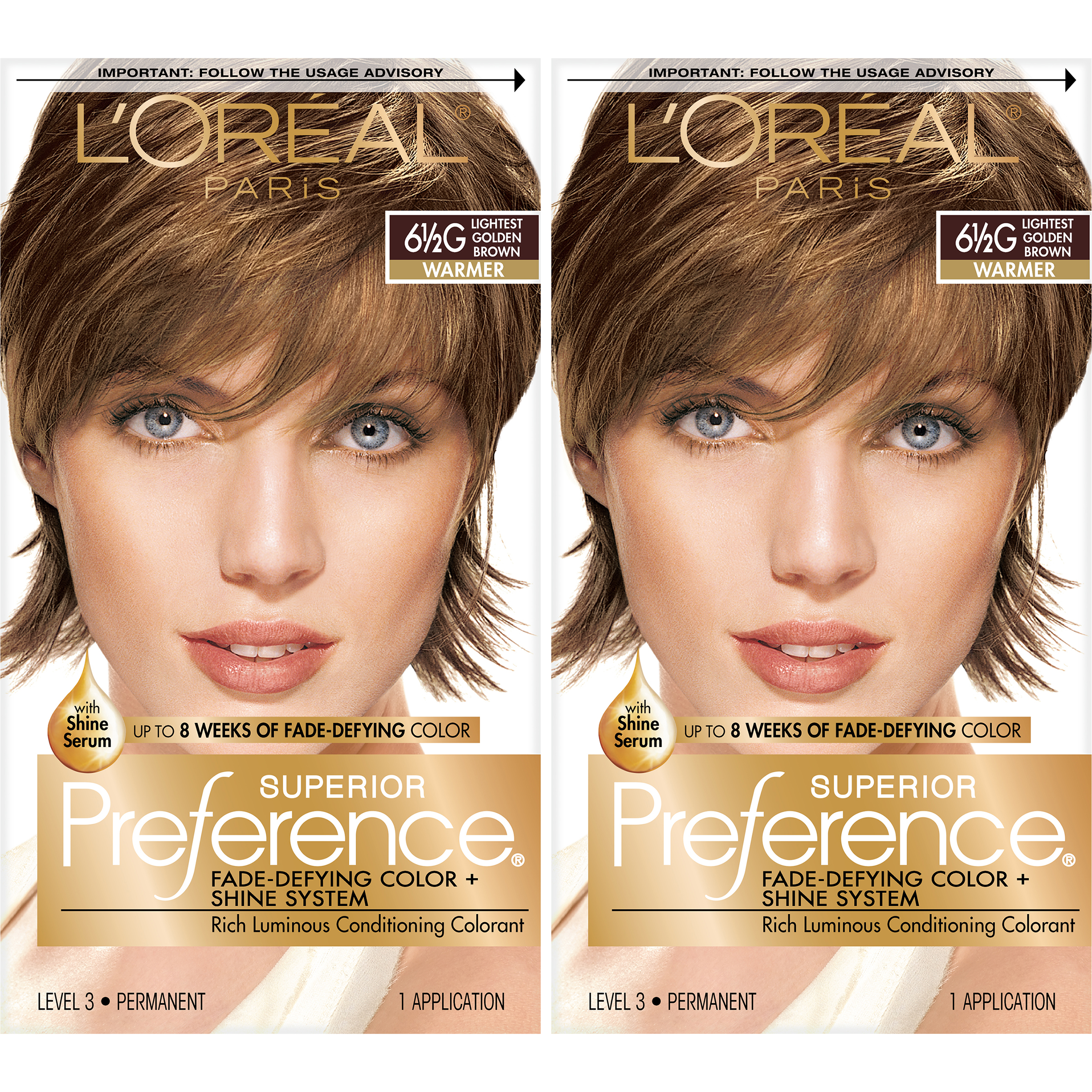 Loreal Paris Superior Preference Permanent Hair Color 6 5g Golden