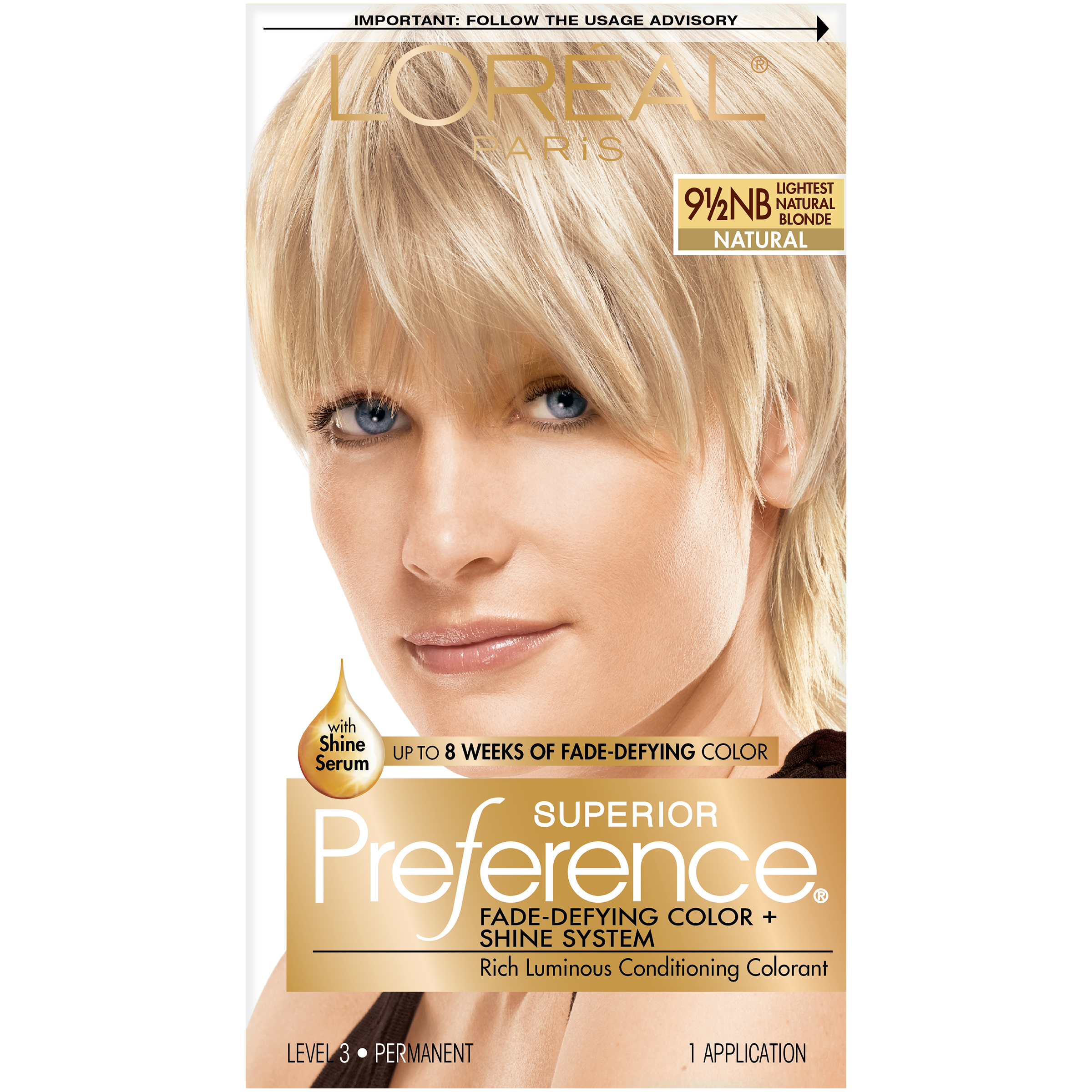 Loreal Loreal Superior Preference Hair Color Lightest Natural
